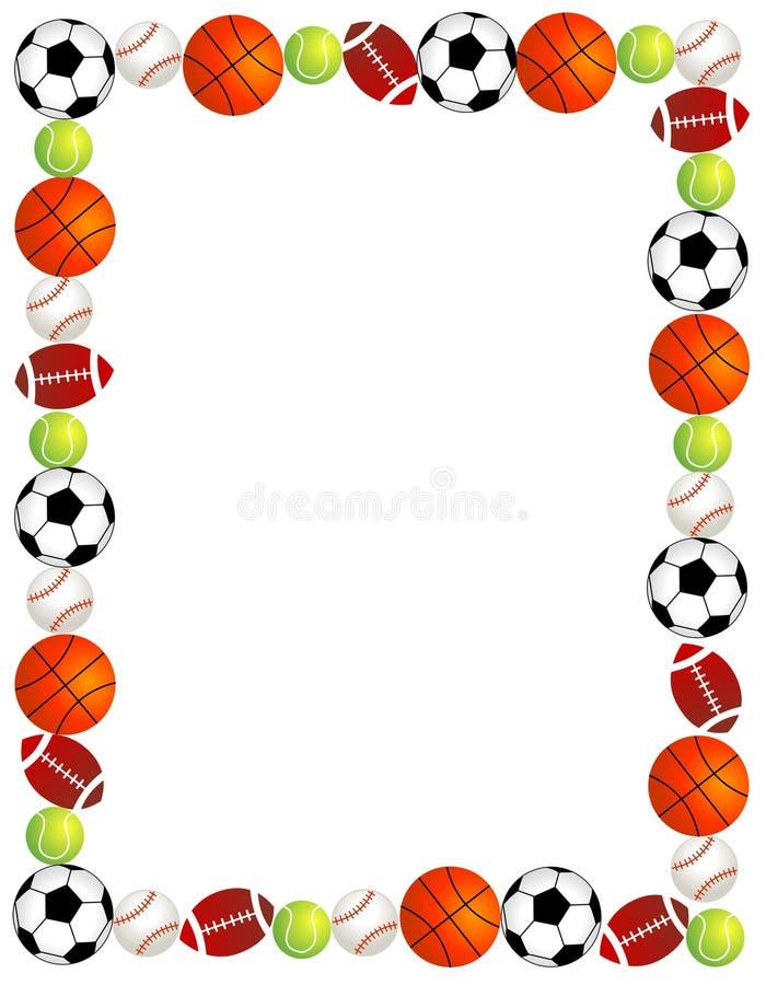 De ballen van de sport