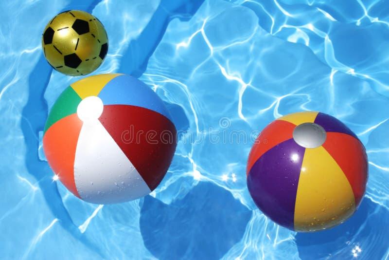 De Ballen van het strand royalty-vrije stock foto's