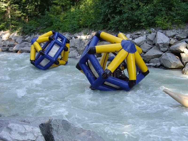 De Ballen van het water stock foto's