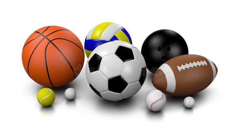De ballen van sporten vector illustratie