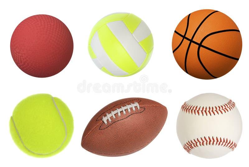 De ballen van sporten royalty-vrije stock fotografie