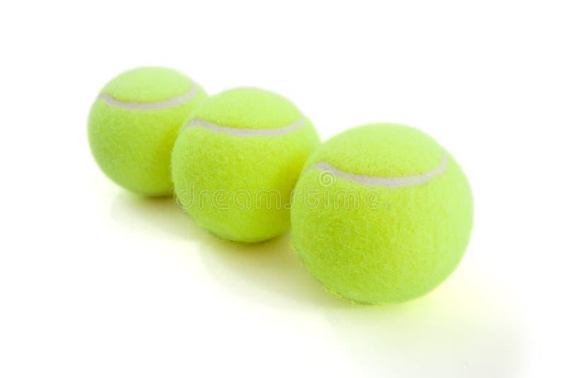 De ballen van Tenis royalty-vrije stock afbeeldingen