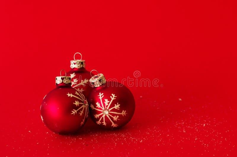 De ballenachtergrond van Kerstmis royalty-vrije stock foto's