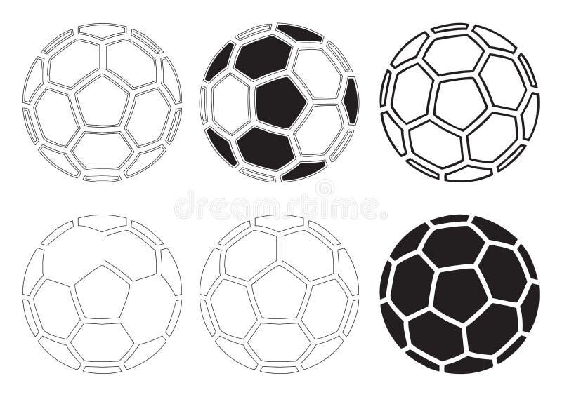 De ballenvector van het voetbal