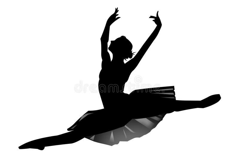 De ballerina stock illustratie