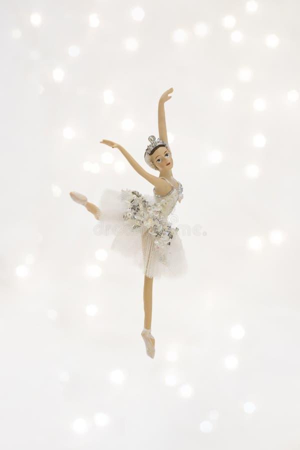 De Ballerina van het Kerstmisspeelgoed stock afbeelding