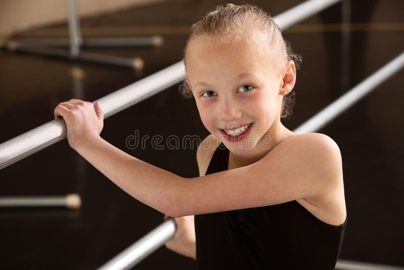 De Ballerina van het kind royalty-vrije stock fotografie