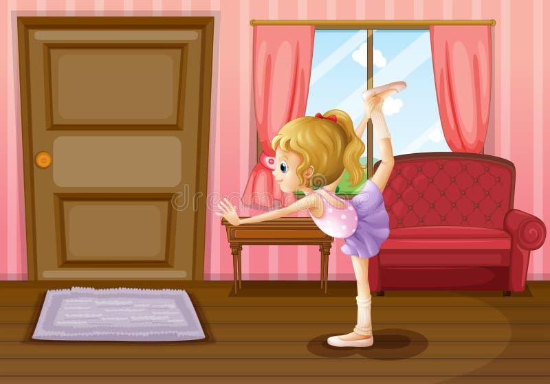 De balletdanser stock illustratie