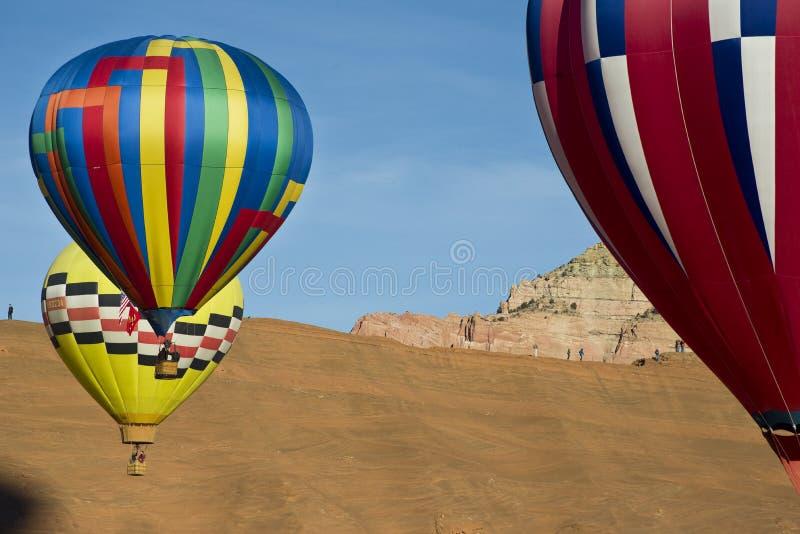 De Ballon van de hete Lucht. royalty-vrije stock fotografie