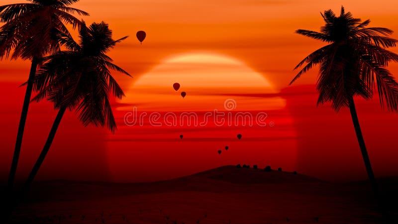 De ballon van de lucht stock illustratie