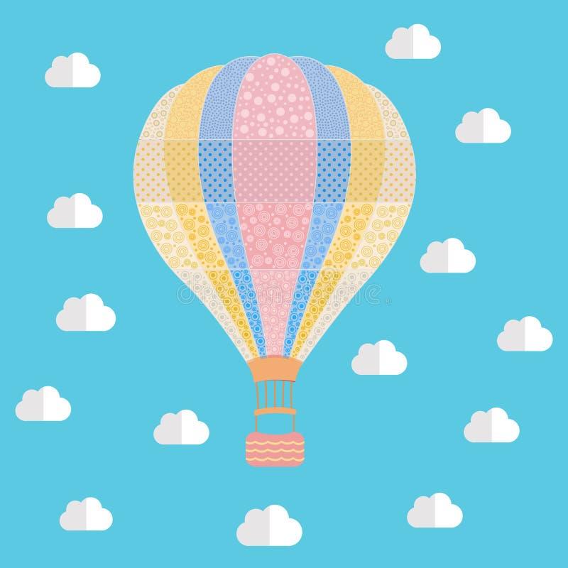 De ballon van de lucht royalty-vrije stock afbeeldingen