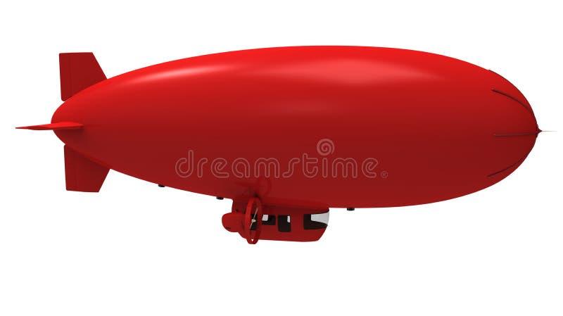 De ballon van Dirigible stock illustratie