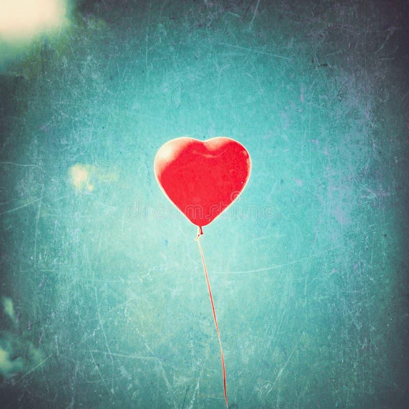 De ballon van het hart stock foto's