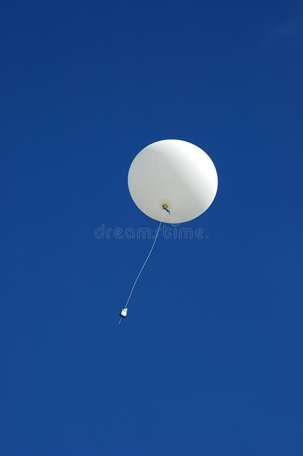 De Ballon Van Het Weer Het Stijgen Stock Afbeeldingen