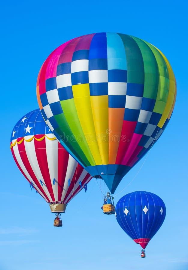 De Ballonfiesta van Albuquerque stock fotografie