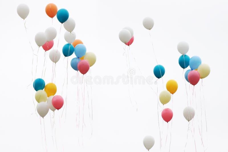 De ballons van de kleur royalty-vrije stock afbeelding