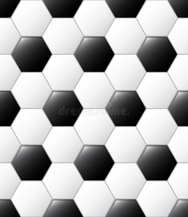 De balpatroon van het voetbal