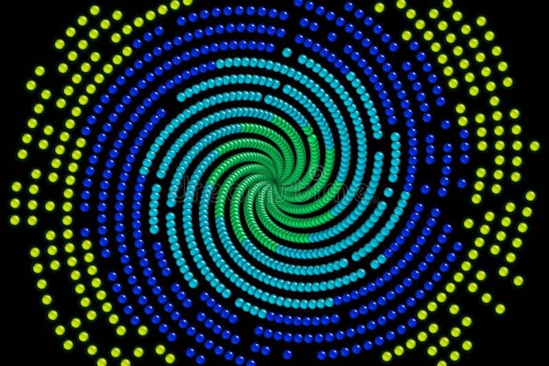 De balSpiraal van de gom vector illustratie