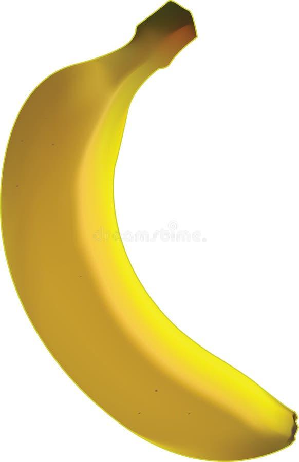 De banaan van het illustratiebeeldverhaal royalty-vrije stock foto's