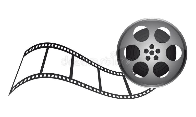 De band van de film vector illustratie