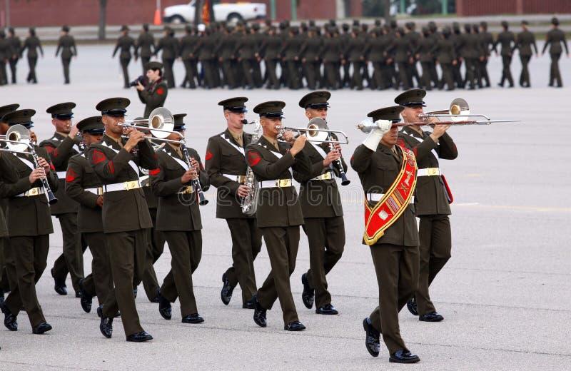 De Band van de Marine van Verenigde Staten royalty-vrije stock foto's