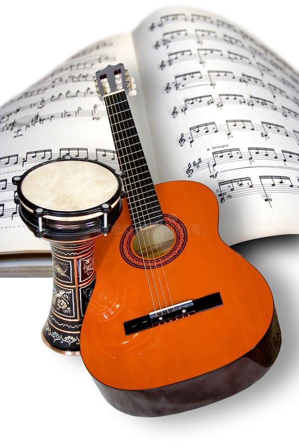 De band van de muziek stock afbeelding