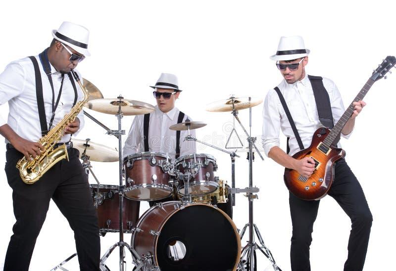 De band van de muziek royalty-vrije stock afbeelding