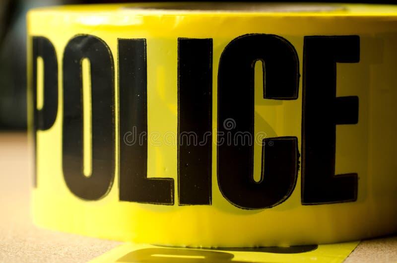De Band van de politie stock foto's