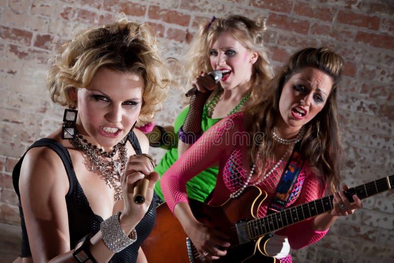 De Band van de punkmuziek royalty-vrije stock afbeeldingen