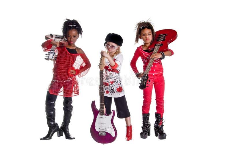 De Band van het meisje stock foto