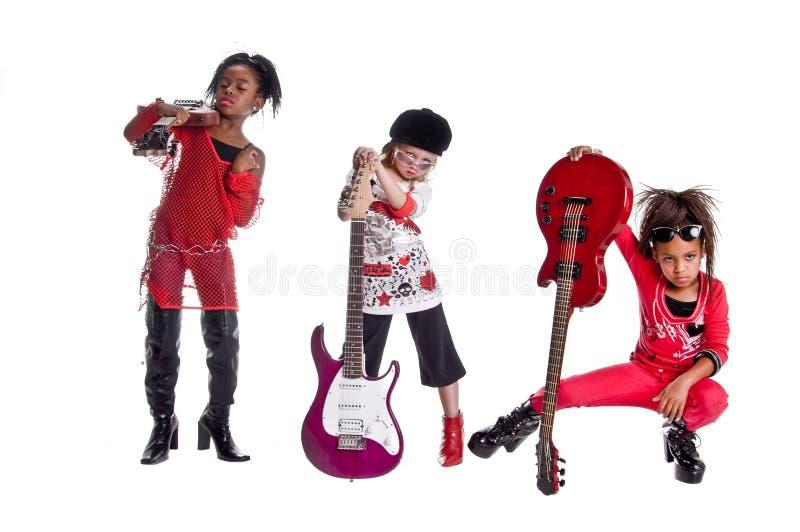 De Band van het meisje royalty-vrije stock foto