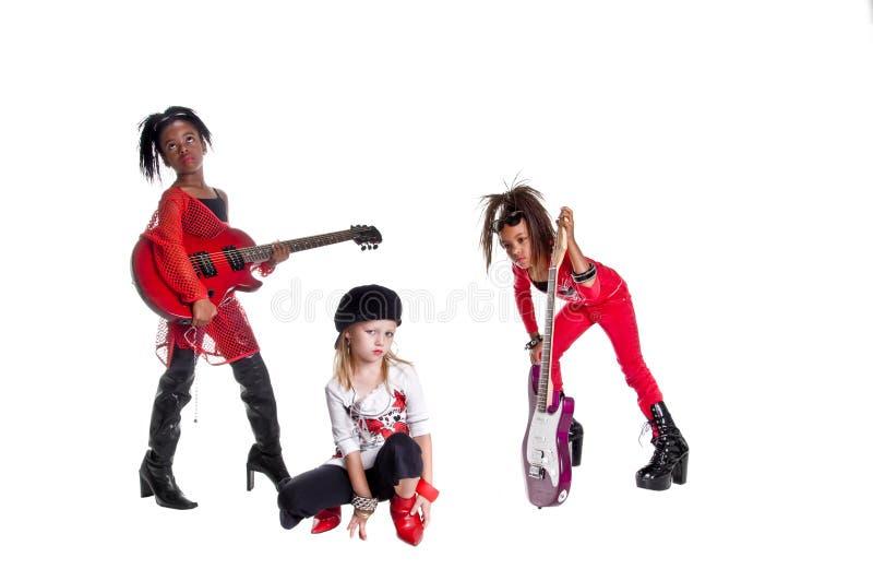 De Band van het meisje stock fotografie