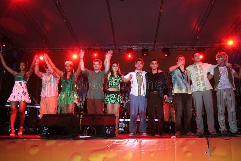 De band van Mandinga royalty-vrije stock foto