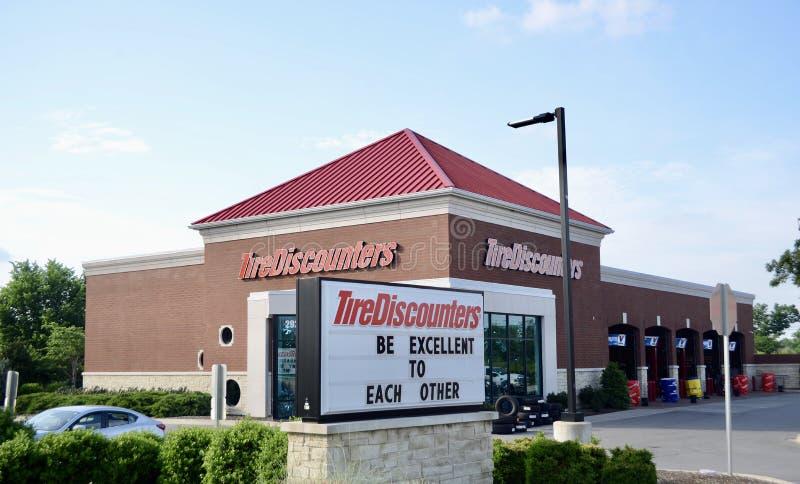 De Bandwinkel van banddiscounters, Murfreesboro, TN stock foto's