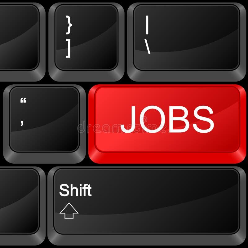 De banen van de computerknoop vector illustratie