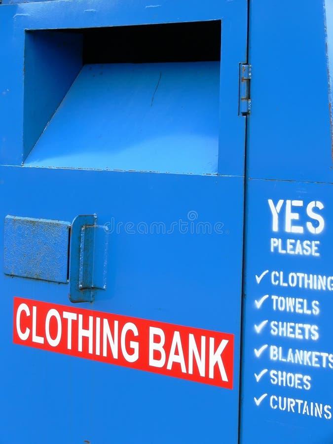 De Bank van de kleding royalty-vrije stock foto