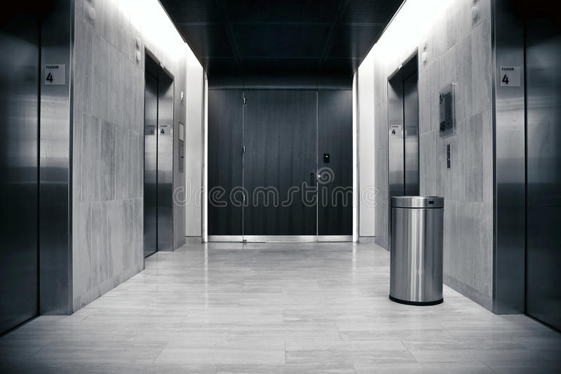 De bank van de lift stock fotografie