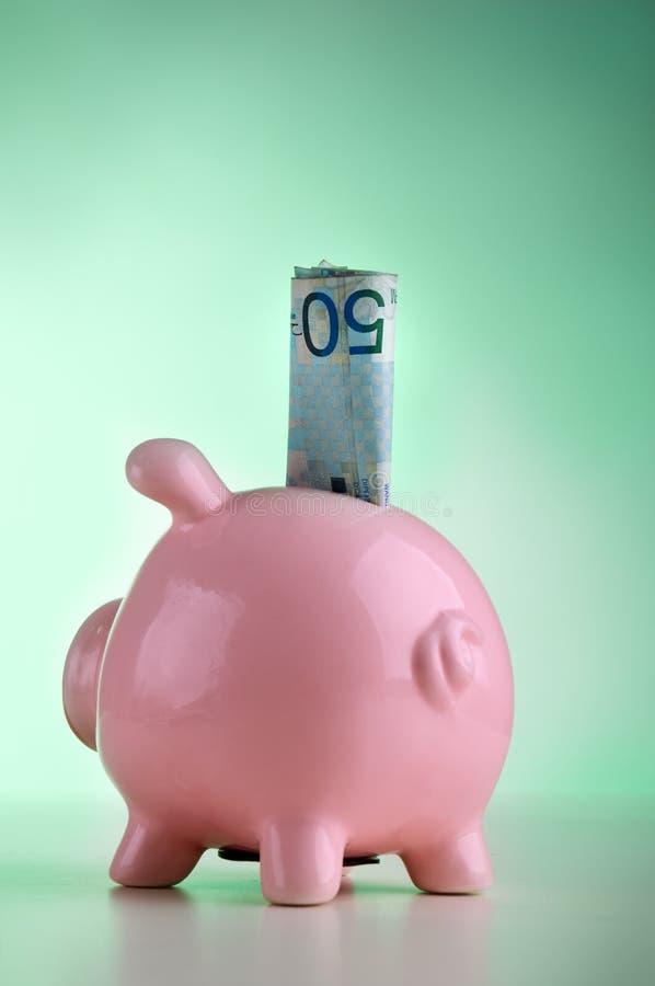 De bank van Piggk royalty-vrije stock afbeelding