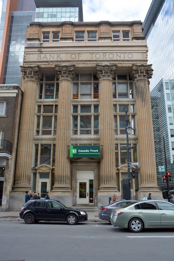 De Bank van Toronto en van de Heerschappij aan TD Canada de Vertrouwensbouw royalty-vrije stock fotografie