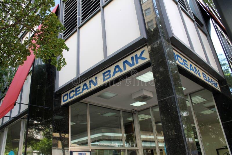 De bankbouw in Miami royalty-vrije stock fotografie