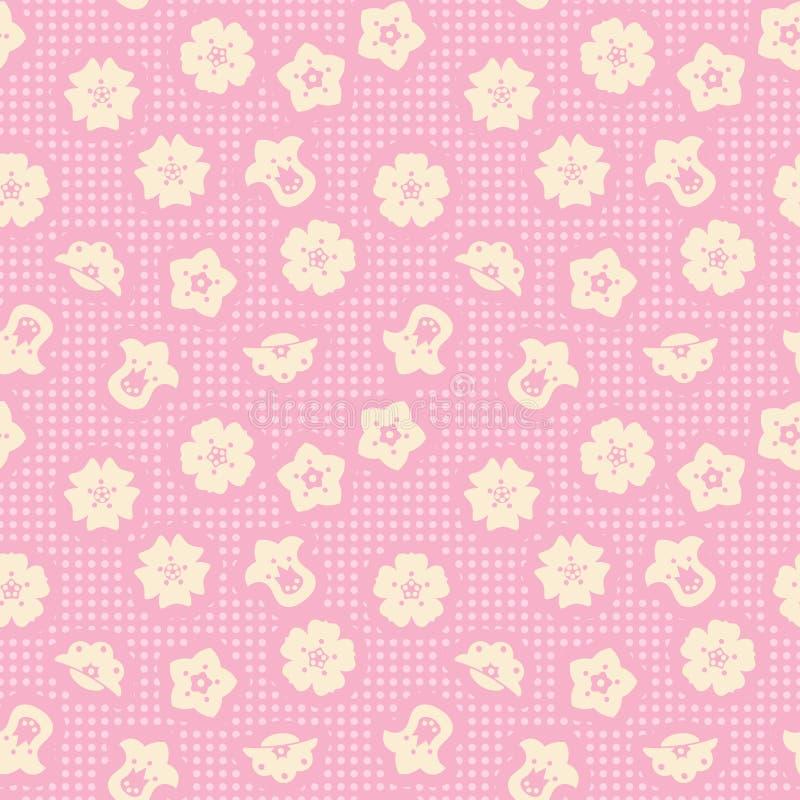 De Banner Van Bloemen Background Vector Illustratie