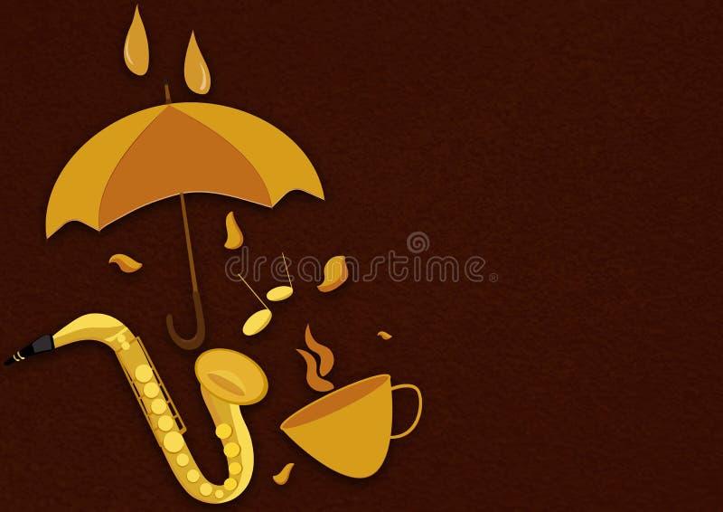 De banner van de herfst eps10 stock illustratie