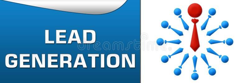 De Banner van de loodgeneratie royalty-vrije illustratie