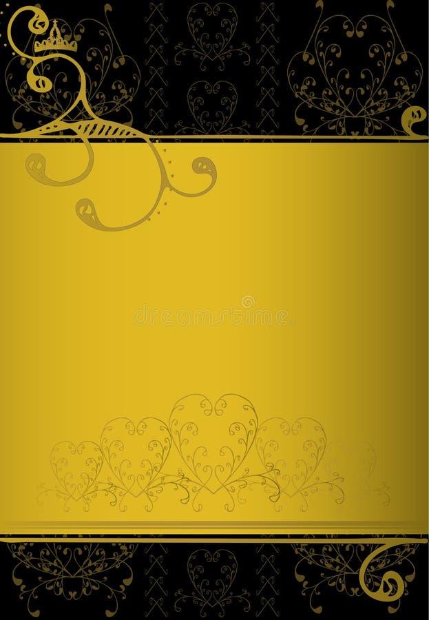 De banner van de luxe royalty-vrije stock afbeeldingen