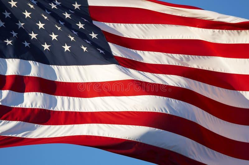 De banner van de V.S. stock afbeeldingen