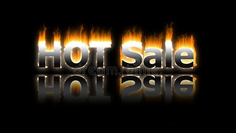 De banner van de verkoop