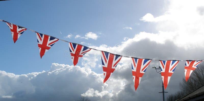 De banner van de vlag stock afbeelding