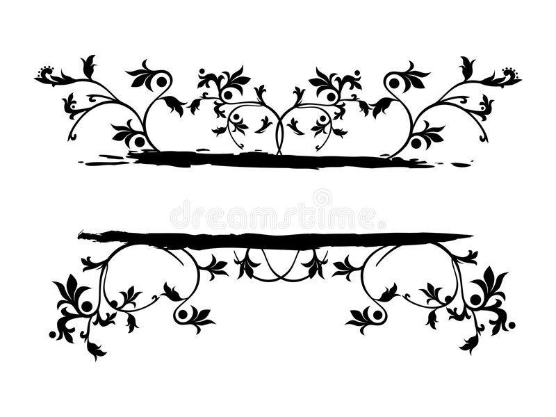 De banner van Grunge royalty-vrije illustratie