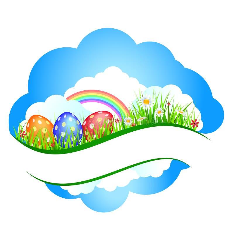 De banners van Pasen vector illustratie