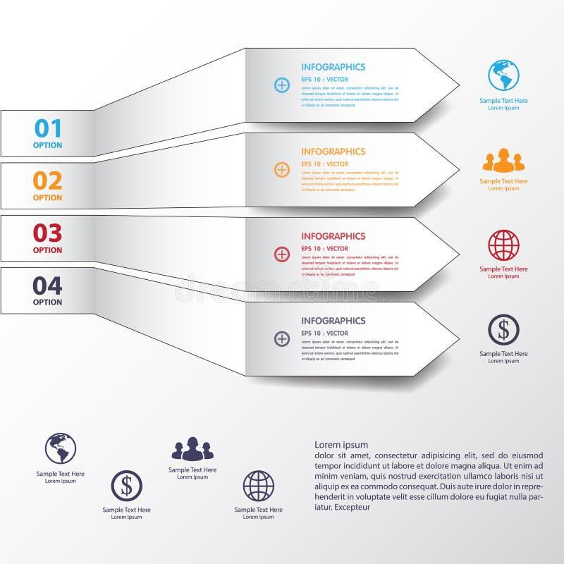 De bannersmalplaatje/grafisch of website van het ontwerp blauw aantal Vectorep stock illustratie